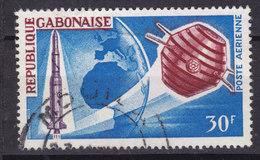 Gabon 1966 Mi. 244    30 Fr Französische Erforschung Des Weltraumes 'Diamant'-Trägerrakete Satellit 'A 1' - Gabun (1960-...)