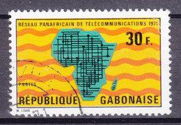 Gabon 1971 Mi. 424    30 Fr Panafrikanisches Fernmeldenetz - Gabun (1960-...)