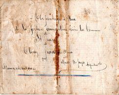 Arpentage Et Plans  Chalais - 1910 - Suisse - Valais - St. Jean - Jean Clivaz - Huit Pages De Plans - Decrees & Laws