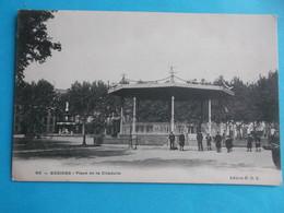 34 : BEZIERS : PLACE De La CITADELLE , C.P.A. ,carte En Très Bon état ,animée - Beziers