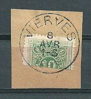 TX 1 Gehalveerd/demi Gestempeld VIERVES - COBA 10 Euro - Briefmarken