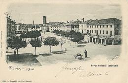 TREVISO - BORGO VITTORIO EMANUELE - F/P - V: 1900 - I - Treviso