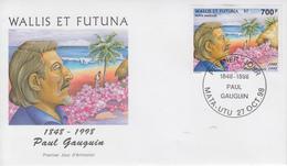 Enveloppe  FDC   1er   Jour     WALLIS  Et  FUTUNA     PAUL  GAUGUIN    1998 - FDC