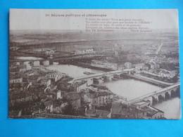 34 : BEZIERS : POETIQUE Et PITTORESQUE , Carte Marron , C.P.A. ,carte En Très Bon état , - Beziers