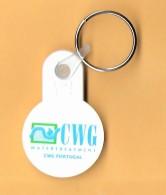 SHOPPING CART TOKEN / JETON DE CADDIE - CWG WTERTREATMENT - CWG PORTUGAL / PORTUGAL / 01 - Trolley Token/Shopping Trolley Chip
