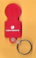 SHOPPING CART TOKEN / JETON DE CADDIE - CONTINENTE / PORTUGAL / 01 - Trolley Token/Shopping Trolley Chip