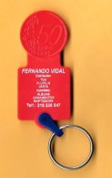 SHOPPING CART TOKEN / JETON DE CADDIE - FERNANDO VIDAL / PORTUGAL / 01 - Trolley Token/Shopping Trolley Chip