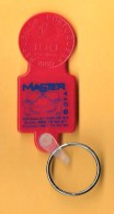 SHOPPING CART TOKEN / JETON DE CADDIE - MASTER SOFÁ / PORTUGAL / 01 - Trolley Token/Shopping Trolley Chip