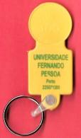 SHOPPING CART TOKEN / JETON DE CADDIE - UNIVERSIDADE FERNANDO PESSOA - PORTO / PONTE DE LIMA / PORTUGAL / 01 - Trolley Token/Shopping Trolley Chip