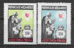 1963-69 MOZAMBIQUE Bienfaisance 31-32** Assistance Publique - Mozambique