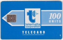 223/ Malta; P2. Telemalta Logo, 100 Ut., CN 35486, Matt - Malta