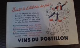 Buvard Vins Du Postillon - Blotters