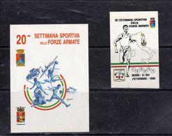 -Settimane Sportive Delle Forze Armate - - Stickers