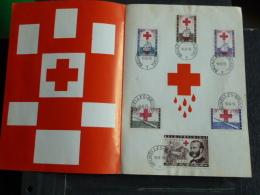 Emission De Timbres Postes Speciaux - Croix-Rouge - 1959 - Documents De La Poste