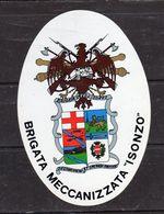 """- Brigata Meccanizzata """" Isonzo """"- - Stickers"""