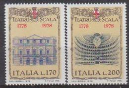 1978 - Teatro Alla Scala - Nuovo - 1971-80: Mint/hinged