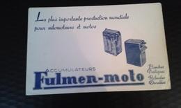 Buvard Fulmen Moto - Blotters