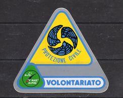- A.N.A.  Protezione Civile - VOLONTARIO - - Stickers