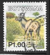 Botswana, Scott # 748 Used Kudu, 2002 - Botswana (1966-...)