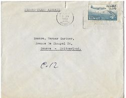 KUWAIT 1962 Cover Posted, 1 Stamp COVER USED - Koweït