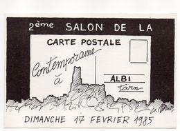Illustrateur  A . Mirt --1985--ALBI -Tarn - 81 --2ème Salon De La Carte Postale --17 Févr 1985 - Bourses & Salons De Collections