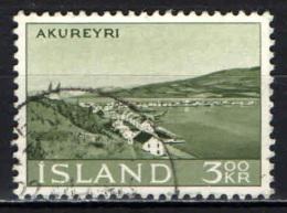 ISLANDA - 1963 - VEDUTA DI AKUREYRI - USATO - 1944-... Republik