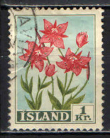ISLANDA - 1958 - ERBA DI SALICE - USATO - Usati
