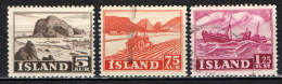 ISLANDA - 1950 - IL LAVORO IN ISLANDA - USATI - Usati