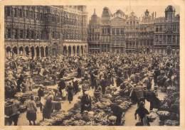 CPM - BRUXELLES - Grand'Place - Marché Matinal - Markten