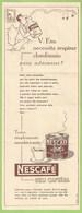 Publicidade - Nescafé - Farmácia - Saúde - Medicina - Propaganda Médica - Medicamento - Remédio - Comercial - Advertising