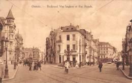 OSTENDE - Boulevard Van Iseghem Et Rue Royale - Oostende