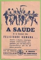 Lisboa - Paris - Publicidade - Farmácia - Saúde - Medicina - Propaganda Médica - Medicamento Remédio Comercial France - Advertising