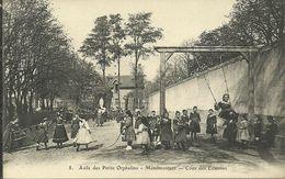 MENILMONTANT  -- Asile Des Petits Orphelins - Cour Des Externes                    - N° 8 - Arrondissement: 20