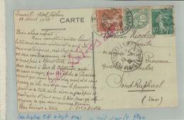 CPA 29   SAINT-JEAN-TROLIMON  Calvaire De Tronoën   Cachet A Date Pont L'abbe Lambour FEVR 2018 469 - Postmark Collection (Covers)