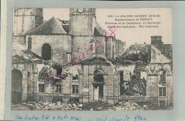 CPA  55   MILITARIA LA GUERRE 1914-18-19   BOMBARDEMENT  DE VERDUN  Environs De La Cathédrale , Le Séminaire  FEVR 2018  - Verdun
