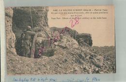 CPA  55 MILITARIA  LA GUERRE 1914-18  LE FORT DE VAUX   Reste Des Murs D'Enceinte    FEVR 2018 497 - France