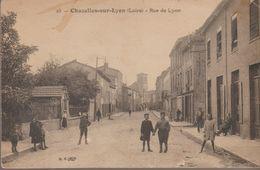 Chazelles Sur Lyon- Rue De Lyon - Autres Communes