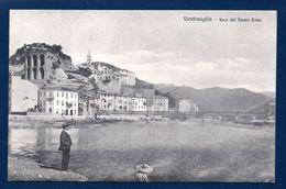 Ventimiglia Alta. ( Imperia ). Foce Del Fiume Roia. 1910 - Imperia