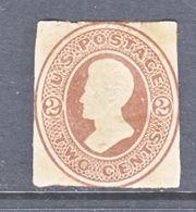 US CUT  SQUARE  W 126   MANILA   *   1874-86  ISSUE - Postal Stationery
