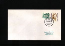 Deutschland / Germany 1990 Interessanten Brief - Cartas