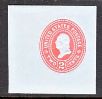 US CUT  SQUARE  U 365        *   1899  ISSUE - Postal Stationery