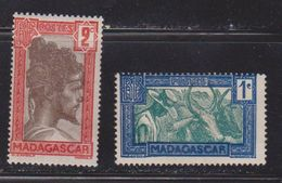 MADAGASCAR Scott # 147-8 MH - Madagascar (1960-...)