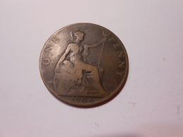 Grossbritannien  One Penny  1904  King Edwards Vll - LV Ss - 1902-1971 : Monnaies Post-Victoriennes