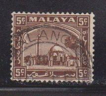 SELANGOR Scott # 48 Used - Mosque At Klang - Selangor