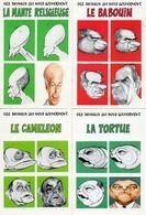 Humour Homme Politique Caricature X 8 Et Bébête Show - Humour