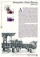 """"""" ALEXANDRE GLAIS-BIZOIN """" Sur Document Philatélique Officiel De 2014. N° YT 4842. Parfait état DPO - Documentos Del Correo"""