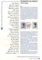 """"""" EVARISTE DE PARNY """" Sur Document Philatélique Officiel De 2014. N° YT 4915. Parfait état DPO - FDC"""