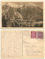 Germany 1923 Postcard Oberau - Scenic View, Oberau To Berlin-Tempelhof - Germany