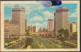 °°° 10807 - BRASIL - SAO PAULO - VISTA PARCIAL DO ANHANGABAU - 1959 °°° - São Paulo