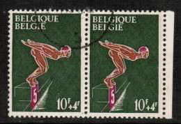 BELGIUM  Scott # B 792 VF USED PAIR - Used Stamps